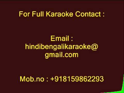 Akash Pathe Prem Karechhi - Karaoke - Kishore Kumar - Dui Adhyay (1986)