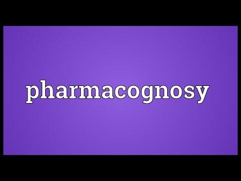 Header of pharmacognosy