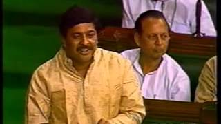 Pramodji Mahajan in Loksabha - Speech on No Confidence Motion
