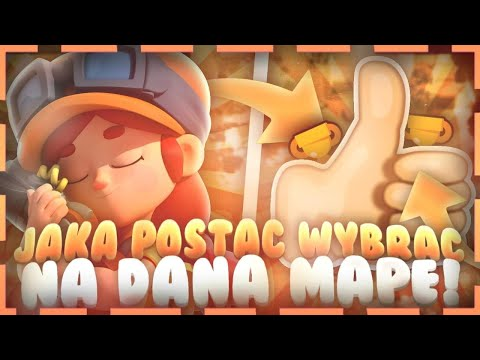 Jaką Postać Wybrać Na Daną Mapę? | Brawl Stars Polska/PL #19