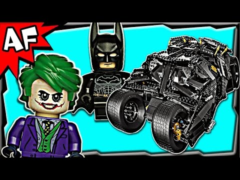 Batman TUMBLER UCS 76023 Lego DC Super Heroes Stop Motion Review