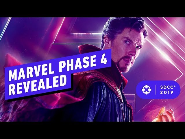 Marvel's Phase 4 Panel Blew Our Minds - Comic Con 2019 thumbnail