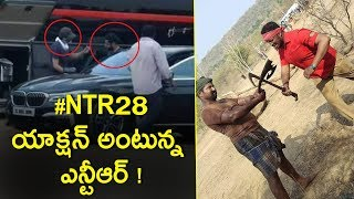 #NTR28 NTR and Trivikram Shoot Action Sequences | #NTR28 #Tarak #Trivikram #Thaman