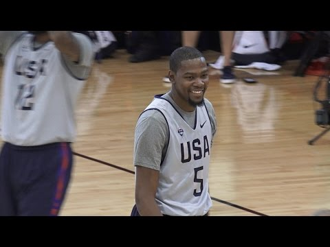 USA Basketball Talk with Kevin Durant