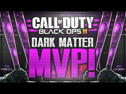 "DARK MATTER ""MVP"" REACTION! *LIVE* ""DARK MATTER CAMO"" BASEBALL BAT UNLOCKED! (Black Ops 3)"