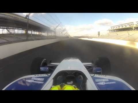 Troy Castaneda Onboard Indy Lights at Indianapolis Motor Speedway