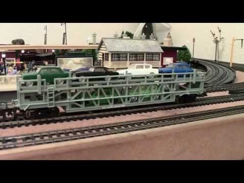 Hornby Triang 'Longest Car Transport Train Ever! + Stop Your Tri-ang Wobble & Hymek Mayhem'.