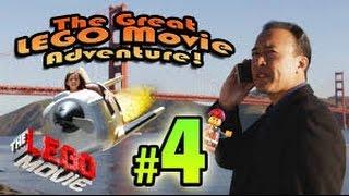 The GREAT LEGO MOVIE ADVENTURE! Episode 4 - SAN FRANCISCO