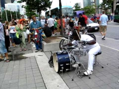 Blue Jays Drummer (Daylight version) Video