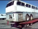 The moving of GMC Greyhound Scenicruiser PD4501-1001 (EXP 331)   8-8-08