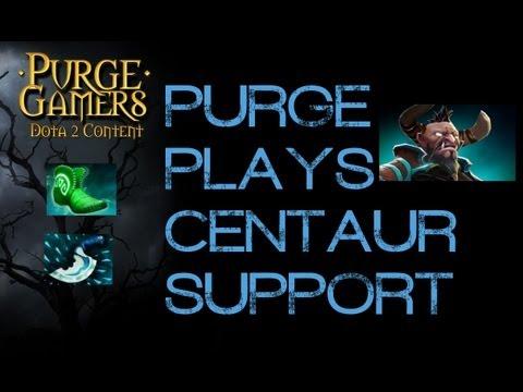 Dota 2 Purge plays Support Centaur