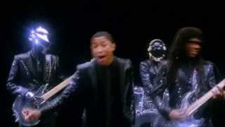 Pharrell Video - Daft Punk Feat Pharrell Williams & Nile Rodgers - Get Lucky  (Official Reworked by #djClaudioVizu)