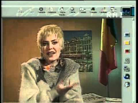 Sabina Guzzanti L'emigrata in Belgio.wmv