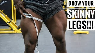 The Best Workout For Bigger and Stronger Quads + Glute Circuit & HIIT Workout