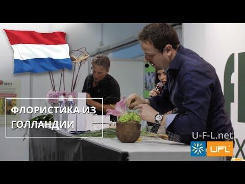 🌺 Голландская флористика 🌺 Композиции в горшках и на каркасе из цветов | Мастер-класс