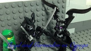 Lego Ninjago Lloyd and Garmadon vs Omega scene Recreation
