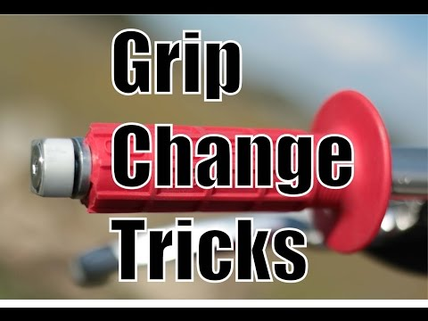 Handlebar Grip Change Tricks   Fix Your Dirt Bike.com