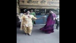 Hot Girl Dance In The City Video MirchiFun com