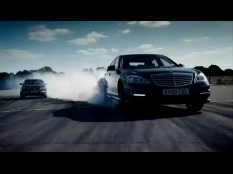 BMW 760Li vs Mercedes S63 AMG - Top Gear - BBC Video