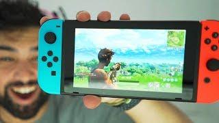 Fortnite Nintendo Switch Gameplay..