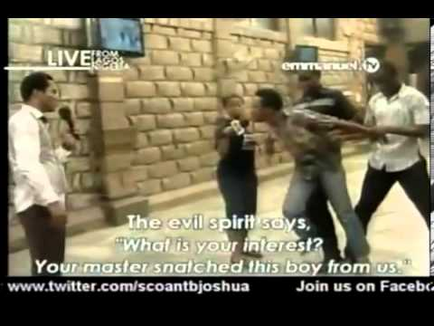 Watch Tb Joshua Disciples Deliverance From Idol, Snake, Lust, Death, And Lion In Scoan video