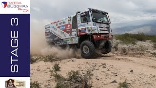 TATRA BUGGYRA RACING on DAKAR 2017 - Stage 3