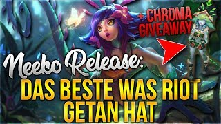 Neeko zu Releasen war das BESTE was Riot getan hat + Neeko Chroma Giveaway! [League of Legends]