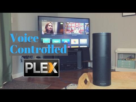 Amazon Echo Alexa + PLEX