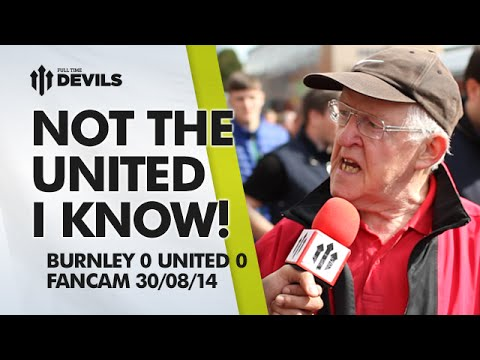 Not the United I Know! | Burnley 0 Manchester United 0 | FAN CAM