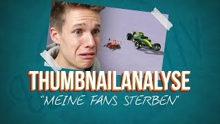 """MEINE FANS STERBEN"" - ConCrafter Thumbnailanalyse"