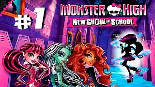 Прохождение Monster High: New Ghoul in School #1