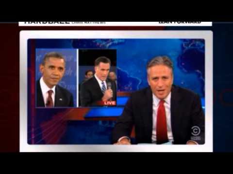 Jon Stewart's Debate Advice For Romney