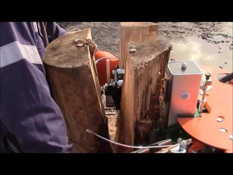 Posch 10T special log splitter- long lengths