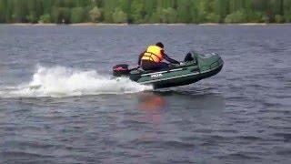 видео лодка hdx sirena