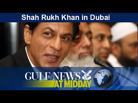 Shah Rukh Khan launches real-estate project in Dubai - GN Midday