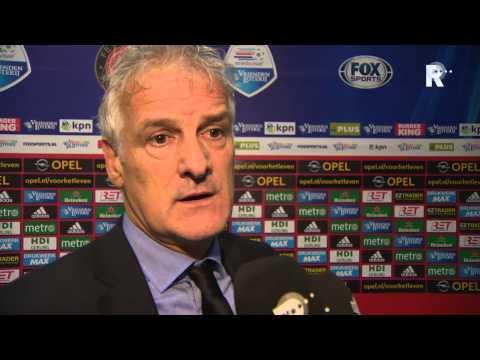 Fred Rutten na afloop van Feyenoord - FC Dordrecht