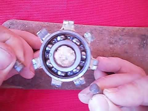 MOTOR MAGNETICO,  Intento 1