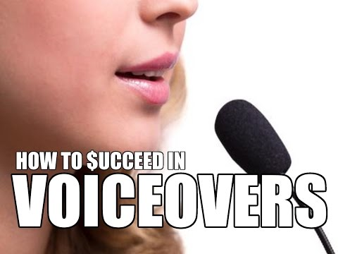 How To Get Voiceover Jobs That Pay Even If You're Just A Beginner