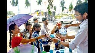 Public Suffering With High Temperature In Vijayawada