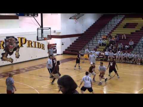 2014 Seniors vs Faculty Charity Basketball Game at Pulaski County High School Virginia
