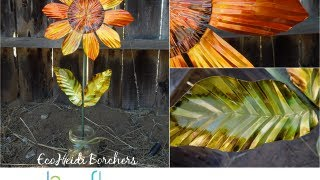 How to Make a Soda Can Sunflower by EcoHeidi Borchers