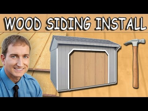 Plywood Siding Installation Installing Plywood Siding