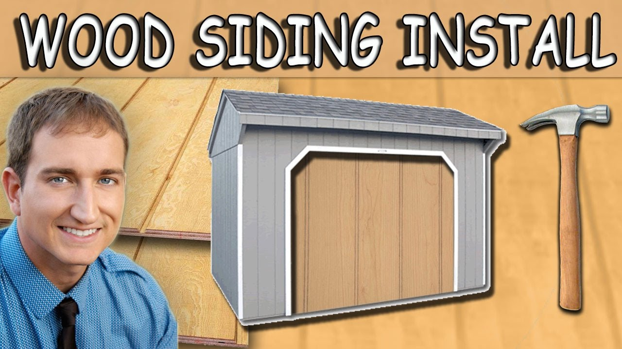 Installing Plywood Siding Tips And Tricks Using T1 11 Youtube
