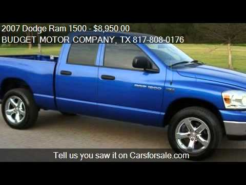 2007 dodge ram 1500 lone star 4x4 for sale in fort worth for Lone star motors fort worth tx