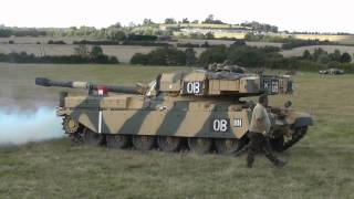 Chieftain MBT Tank FV4201 - Positioning on Field 01-EB-90
