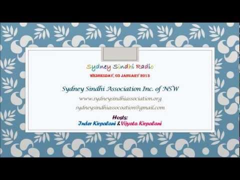 Sindhi Radio from 02 January 2013