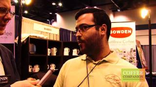 SCAA 2011 - Kevin interviews Honduras coffee farmer and importer