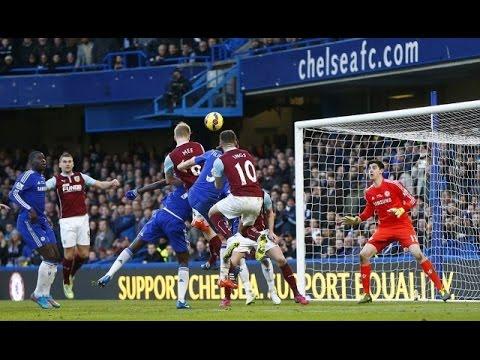 Liga Inggris 2014/15 - Chelsea vs Burnley (1-1)