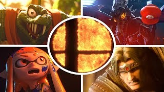 Super Smash Bros Ultimate All Cutscenes Movie All Characters Trailers (Switch & Wii U)