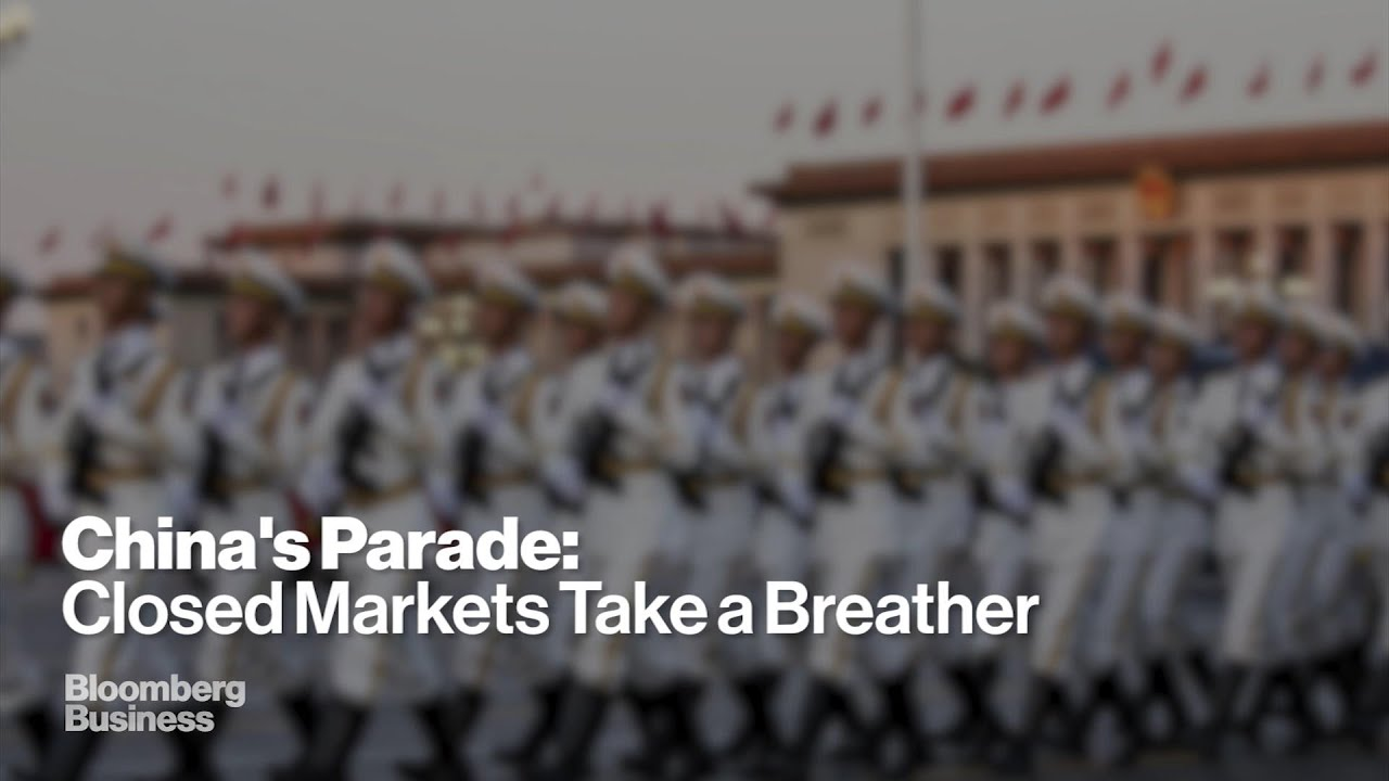 China Parade a Welcome Distraction from Market Turmoil